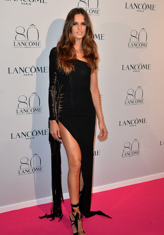 Izabel Goulart - Lancome 80th Anniversary WOW Party in Paris