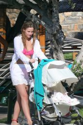 Jacqueline Jossa Bikini Candids - Crete, June 2015