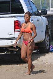 Jada Pinkett Smith Bikini Candids - on Vacation in Hawaii, July 2015