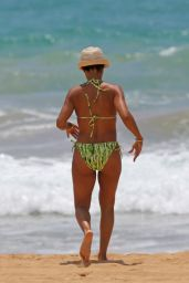 Jada Pinkett Smith in a BIkini on Vacation in Hawaii, July 2015