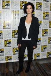 Jaimie Alexander - Blindspot Press Line at Comic Con in San Diego
