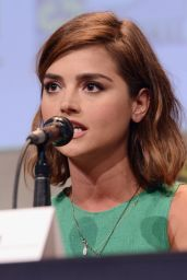 Jenna-Louise Coleman - Women Who Kick Ass Panel - Comic-Con International 2015 in San Diego
