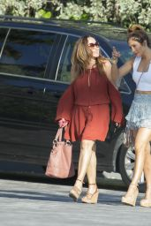 Jennifer Lopez  Summer Style - Out and About in Miami, July 2015