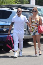 Jennifer Lopez - With Family in Sag Harbor On Private Yacht Utopia 3, NY - July 2015
