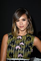 Jessica Alba - Giambattista Valli Show, Paris Fashion Week Haute Couture Fall/Winter 2015/2016