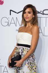 Jessica Alba - MAC Cosmetics & Giambattista Valli Floral Obsession Ball in Paris, July 2015