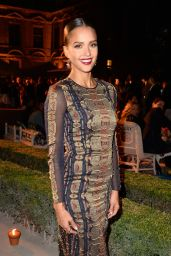Jessica Alba Style - Tory Burch Paris Flagship Store Opening After Party in Paris