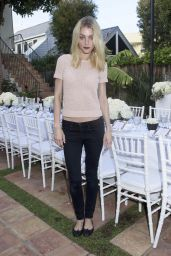 Jessica Stam – Just Jared & JustFab Summer Dinner Party in Malibu – July 2015