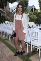 Jessica Szohr – Just Jared & JustFab Summer Dinner Party in Malibu – July 2015