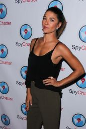 Jessica Szohr - Spychatter App Launch Event in Hollywood -June 2015