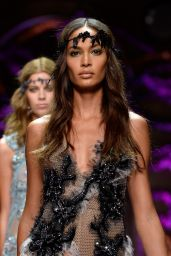 Joan Smalls - Atelier Versace Show, Paris Fashion Week Haute Couture Fall/Winter 2015/2016