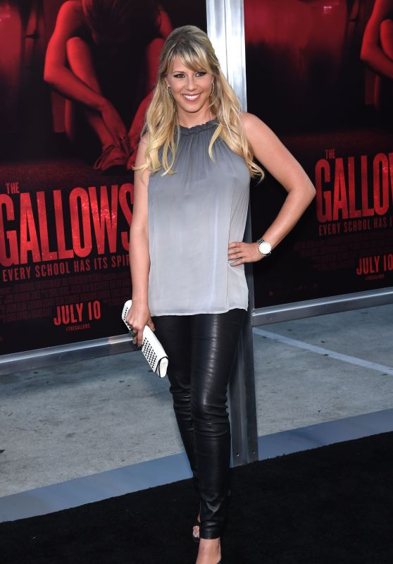 Jodie Sweetin - The Gallows Premiere in Los Angeles