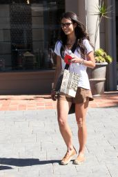 Jordana Brewster - Outside Barneys New York in Beverly Hills, July 2015