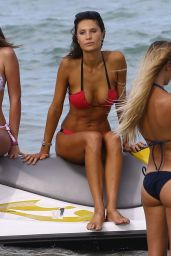Julia Pereira Bikini Photos - on the Beach in Miami, July 2015