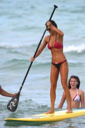 Julia Pereira Hot in BIkini - Beach in Miami, July 2015