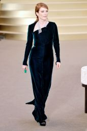Julianne Moore - Chanel Fashion Show in Paris, July 2015