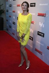 Kari Wuhrer – 'Sharknado 3: Oh Hell No!' Premiere at iPic Theaters in Los Angeles