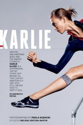Karlie Kloss - Self Magazine August 2015 Issue