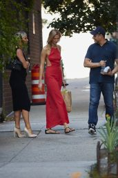 Karlie Kloss Style - Out in NYC, July 2015