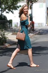 Karlie Kloss Summer Style - Out in NYC, July 2015