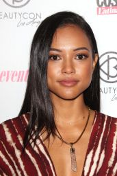 Karrueche Tran – 2015 BeautyCon in Los Angeles