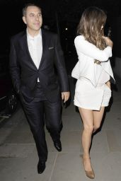 Kate Beckinsale Night Out Style - Leaving ITV Summer Party in London, July 2015