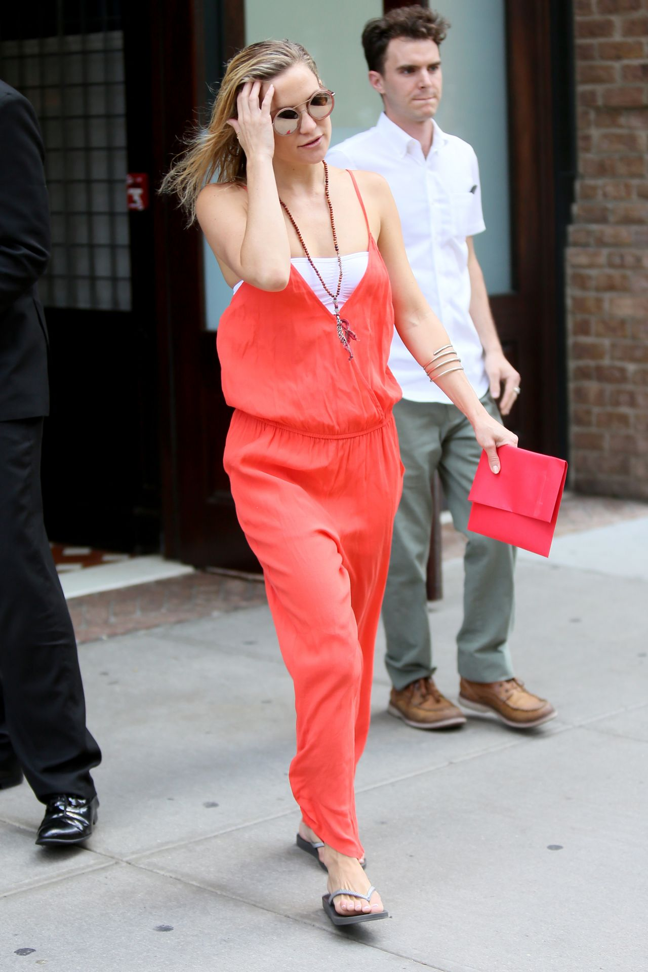 Kate Hudson Summer Style Leaving Her Hotel In Nyc July 2015