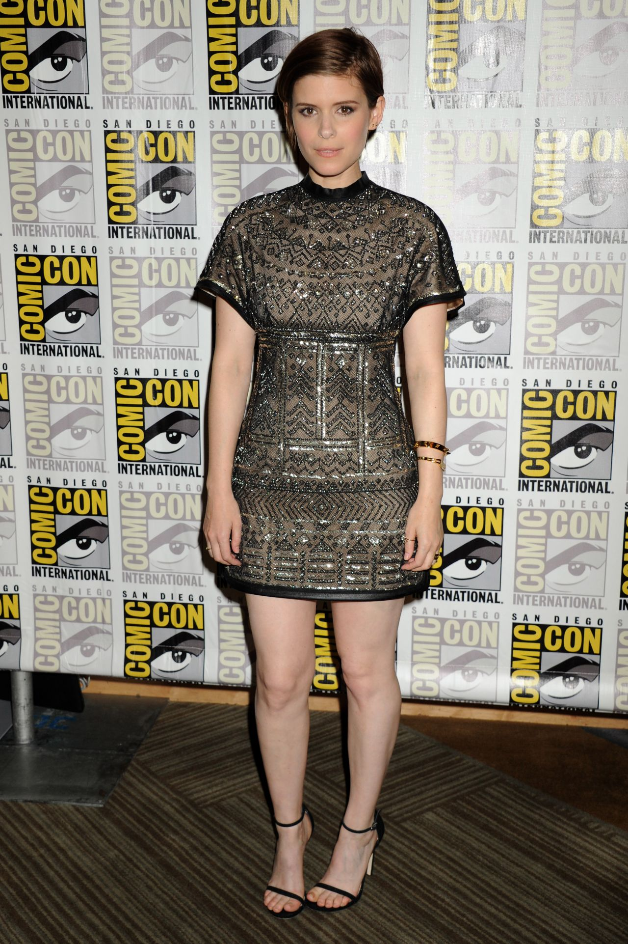 Kate Mara 20th Century Fox Press Line At Comic Con In