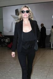 Kate Moss Airport Style - at London