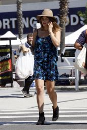 Katharine McPhee Summer Style - Out in Studio City, July 2015
