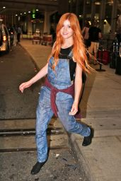 Katherine McNamara Airport Style - Pearson International Airport in Toronto, July 2015