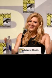Katheryn Winnick - Vikings Panel at Comic-Con in San Diego, July 2015