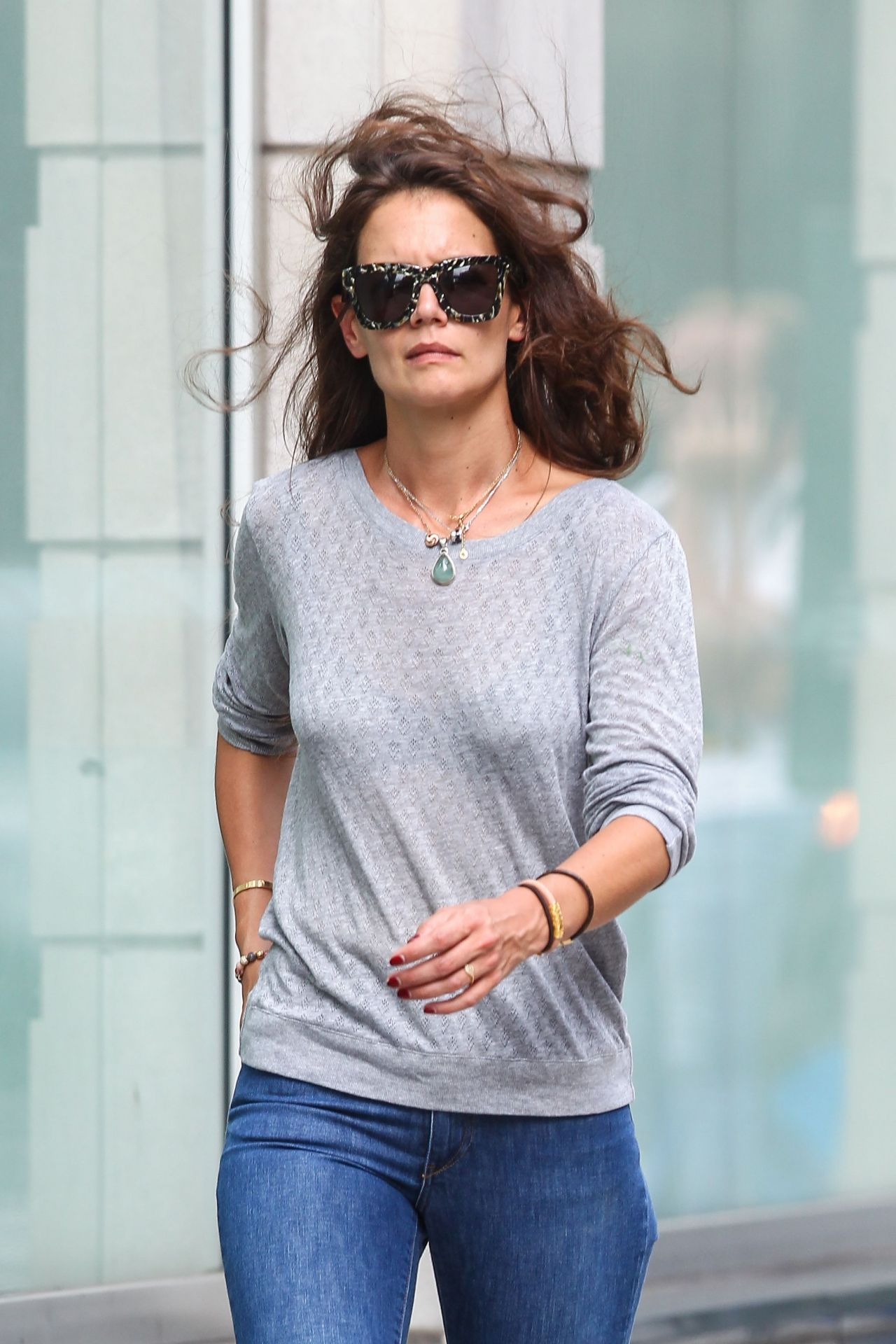 Katie Holmes Tight in Jeans