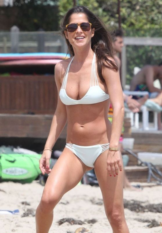 Kelly Monaco Hot Bikini Candids in Malibu, July 2015