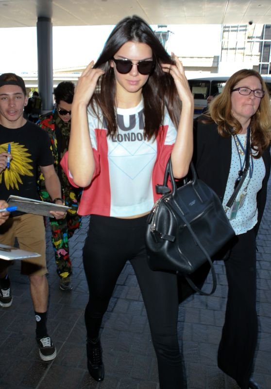 Kendall Jenner Airport Style - at LAX, July 2015