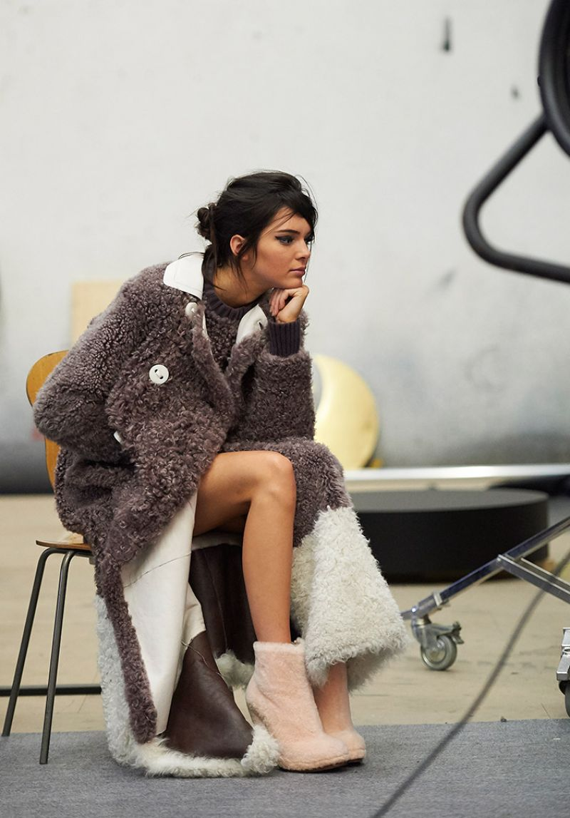 kendall jenner  winter 2015 ad campaign
