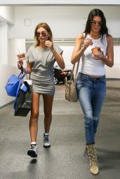 Kendall Jenner & Hailey Baldwin Street Style - Beverly Hills, July 2015