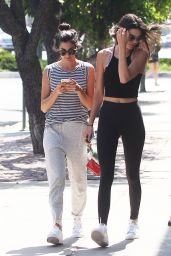 Kendall Jenner Hot in Tights - LA, July 2015