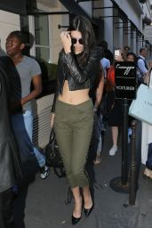 Kendall Jenner - Leaves the