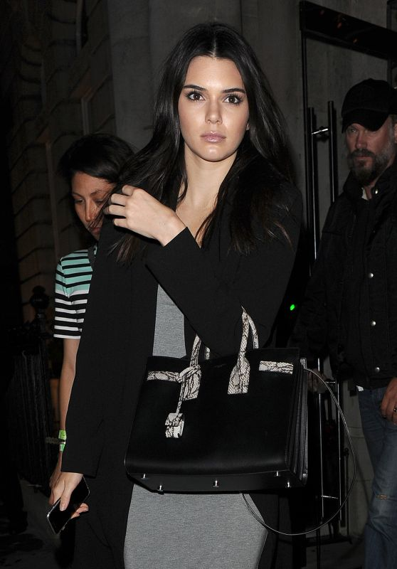 Kendall Jenner – Leaving Her Hotel in London, July 2015