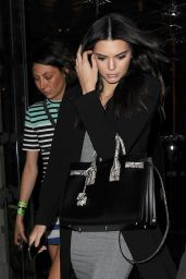 Kendall Jenner - Leaving Her Hotel in London, July 2015