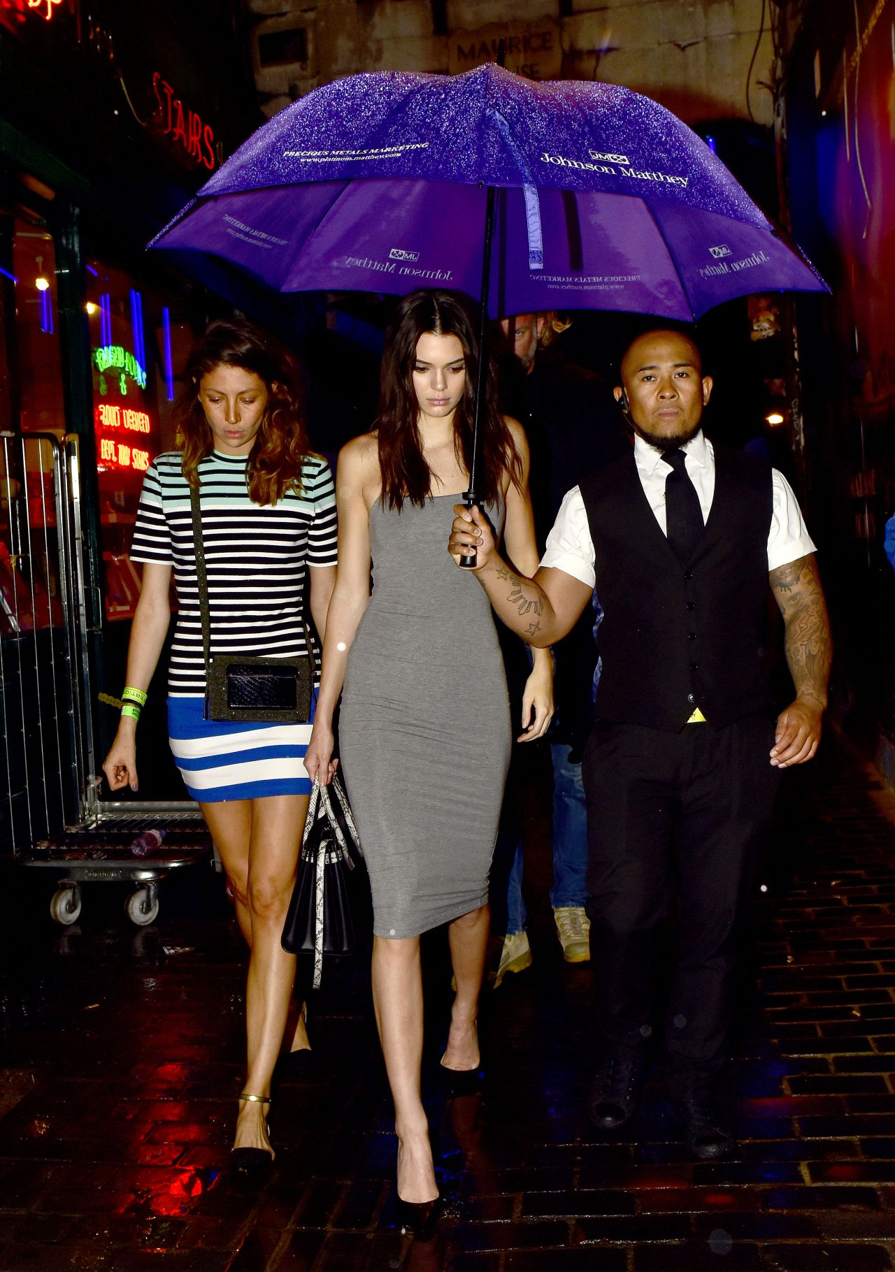 Kendall Jenner Leaving The Box Club In London July 2015