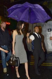 Kendall Jenner - Leaving the Box Club in London, July 2015