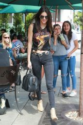 Kendall Jenner - Leaving Urth Caffe in West Hollywood, July 2015