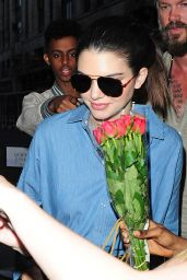 Kendall Jenner - Outside Her Hotel in London, July 2015