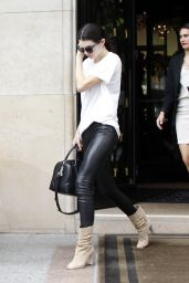 Kendall Jenner Street Fashion - Paris, July 2015