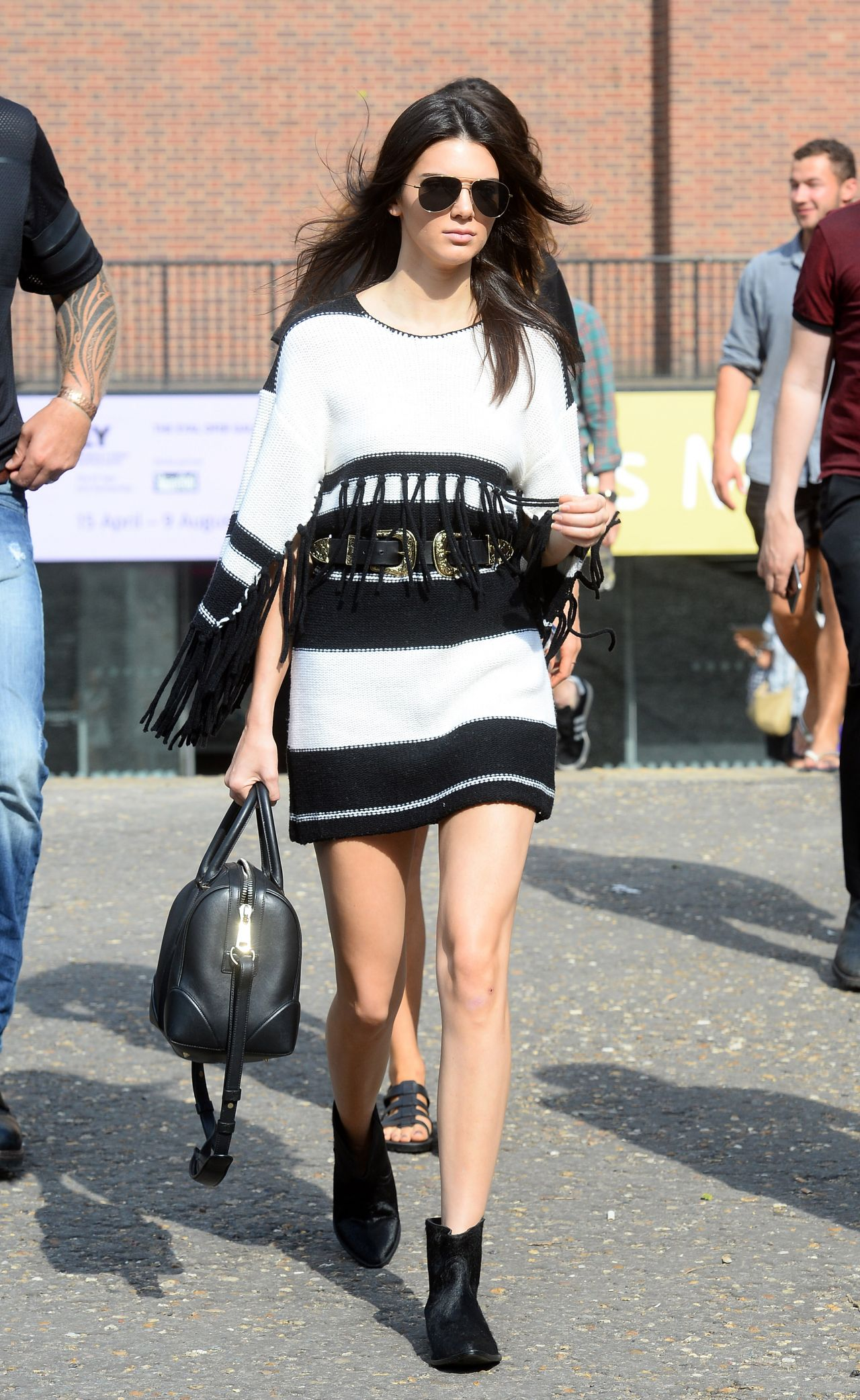 kendall jenner street style  out in london july 2015