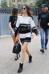 Kendall Jenner Street Style - Out in London, July 2015