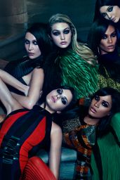 Kendall & Kylie Jenner - Photoshoot for Balmain Fall 2015