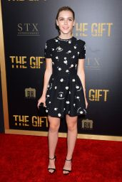 Kiernan Shipka - The Gift Premiere in Los Angeles